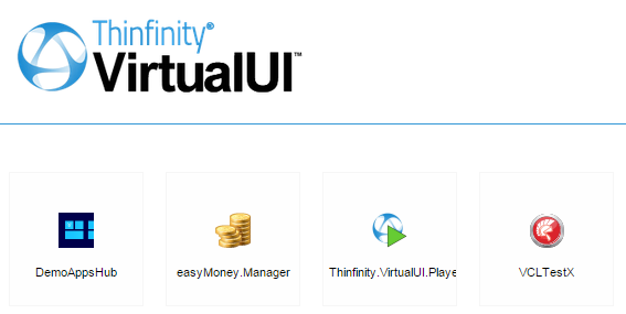 VirtualUI index with player