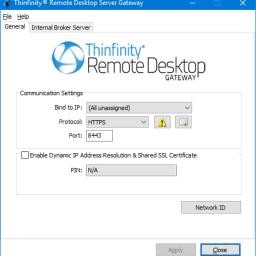 Thinfinity Remote Desktop Gateway