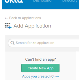 How to configure okta