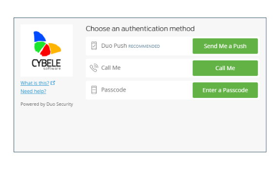 Duo Security Login FMA for RDP