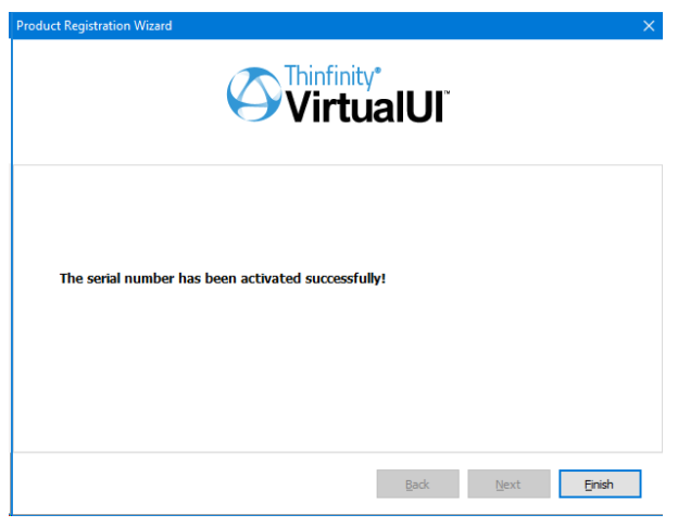 Install Thinfinity VirtualUI