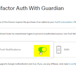 Implementing MFA in your app with Auth0 Guardian
