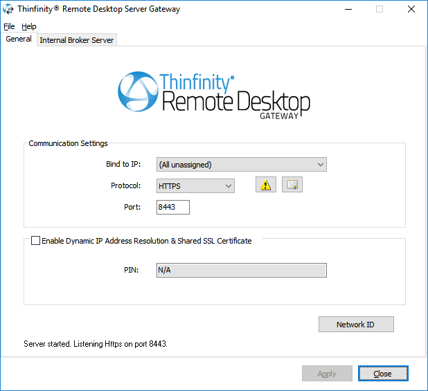 How to access Azure VMs through browser with Thinfinity Remote Desktop