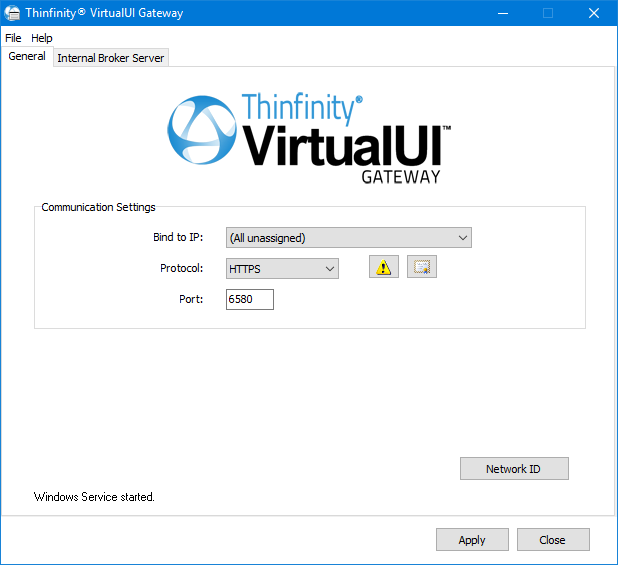 Load Balancing Configuration for Thinfinity VirtualUI