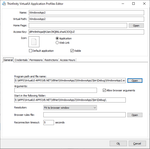 Turn your VB.Net application to a Web App