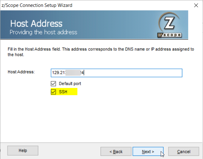 How to create a Linux VM on Oracle cloud for SSH connections with z/Anywhere