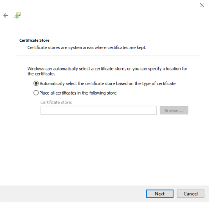 How to create a certificate request and add it in Thinfinity Remote Desktop