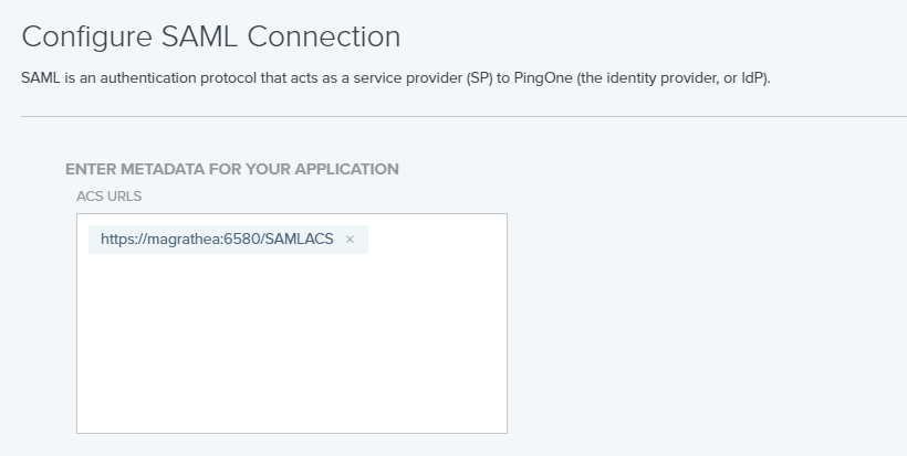 How to configure Thinfinity VirtualUI to authenticate using Ping Identity's SAML