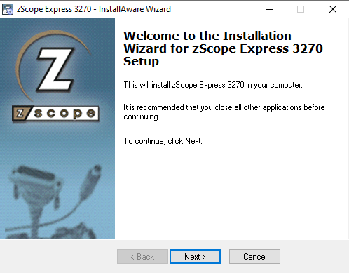 How to install zScope Express TN3270