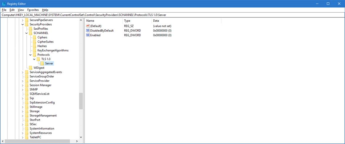 How to disable TLS on Thinfinity Remote Desktop -03