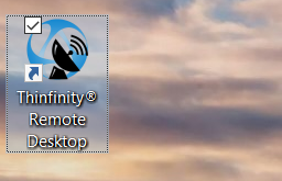 How to create a desktop shortcut to Thinfinity® Remote Desktop - 03