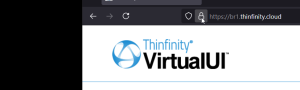 How to create a desktop shortcut to Thinfinity® VirtualUI - 04