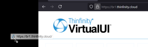 How to create a desktop shortcut to Thinfinity® VirtualUI - 05