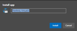 How to create a desktop shortcut to Thinfinity® VirtualUI - 08
