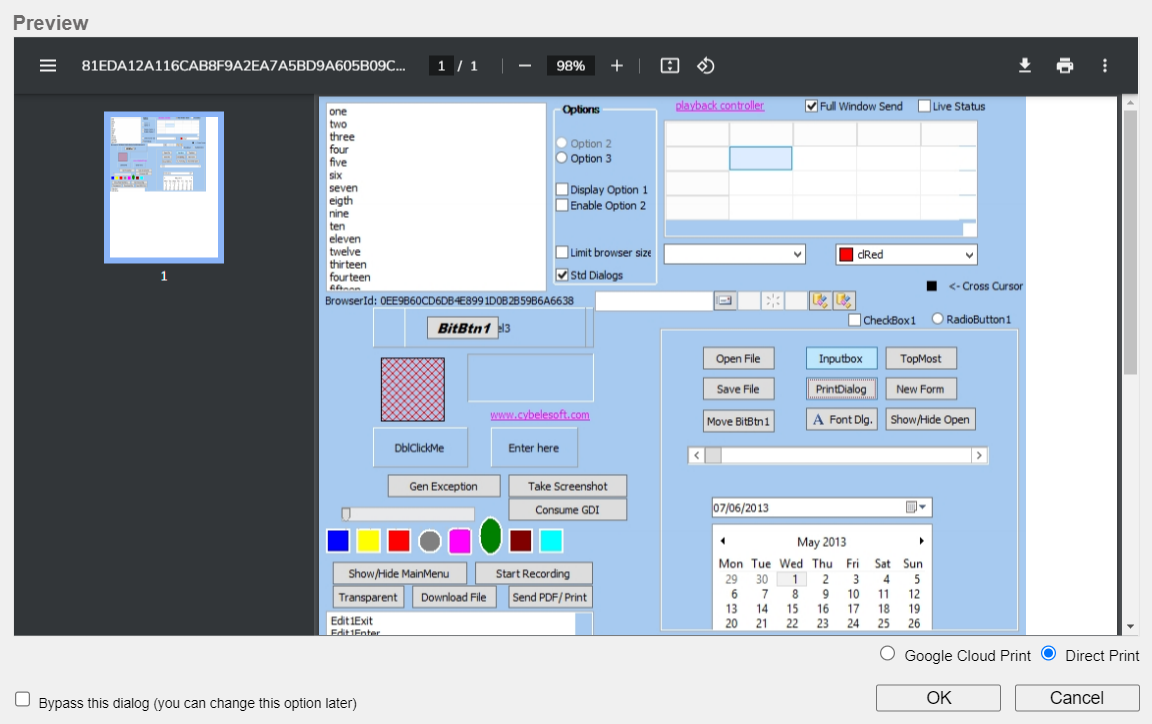 How to set up the Remote Printer functionality for VirtualUI 3.0 - 02