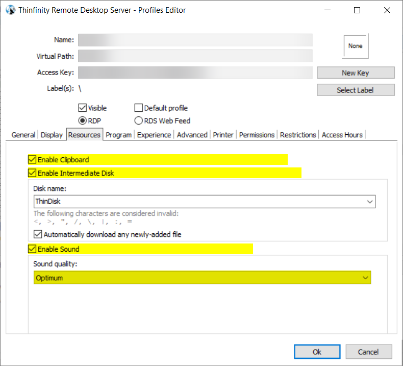 How to allow audio, clipboard and drive redirection via policy - 06
