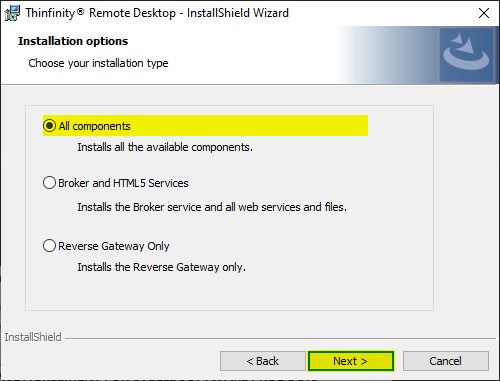 How to create your first connection with Thinfinity Remote Desktop Essentials - 03