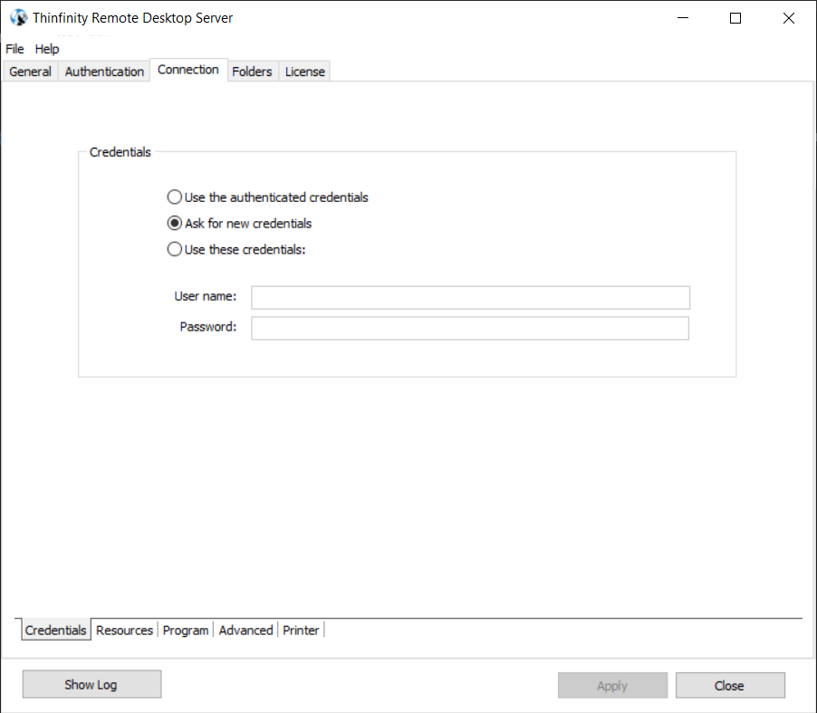 How to create your first connection with Thinfinity Remote Desktop Essentials - 10