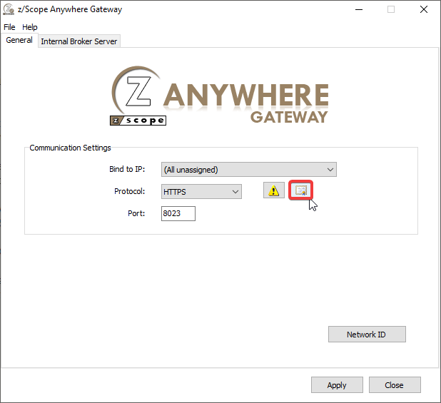 How to manage your SSL Certificates on zScope Anywhere - 01